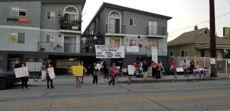 Highland Park Rent-Strike at the Avenue 64 Apartments: 'We