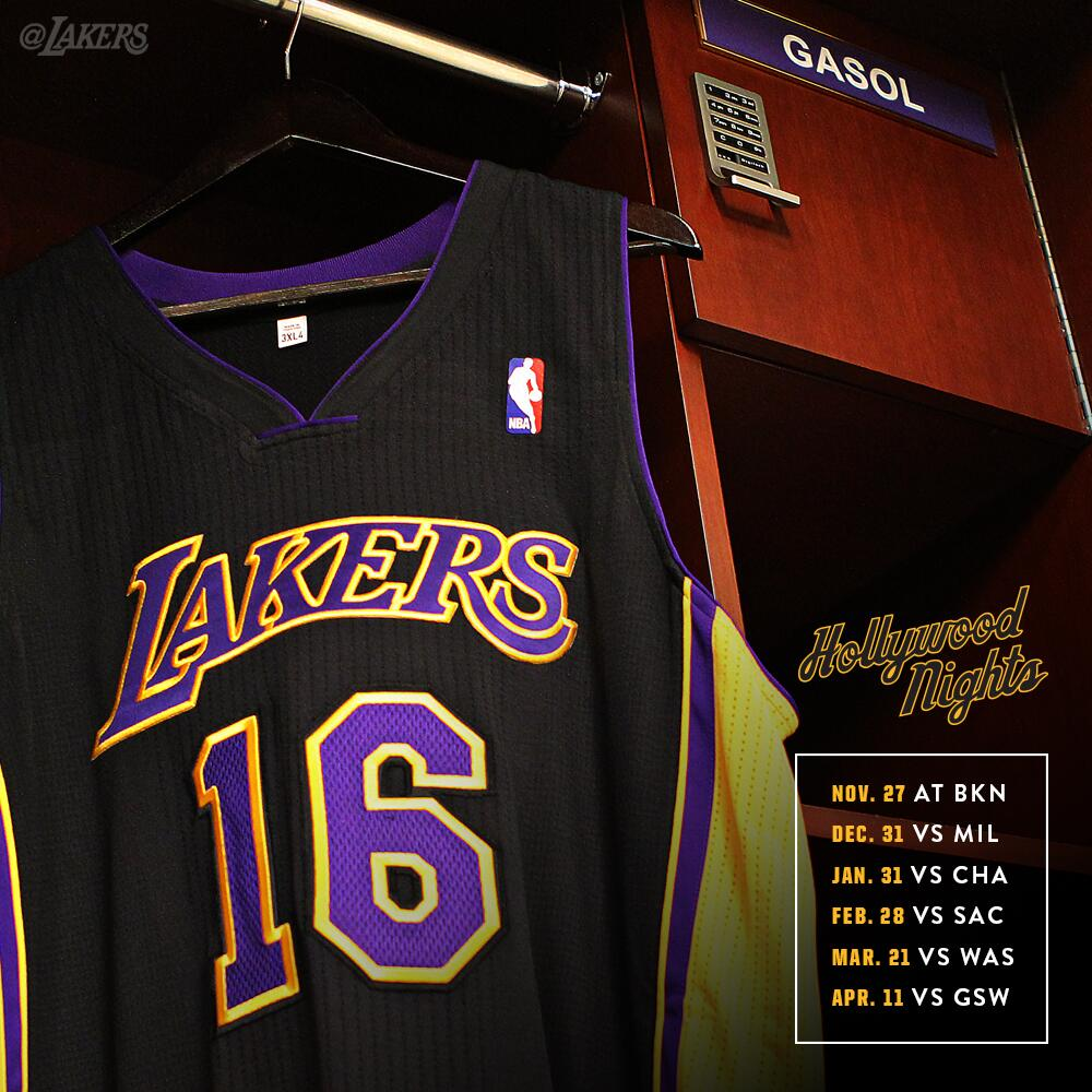 best service af52e 1beff Will Kobe Debut the Same Night at the Lakers' New Black ...