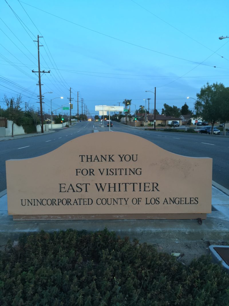 Ode to the Other Whittier Boulevard, East of East L A