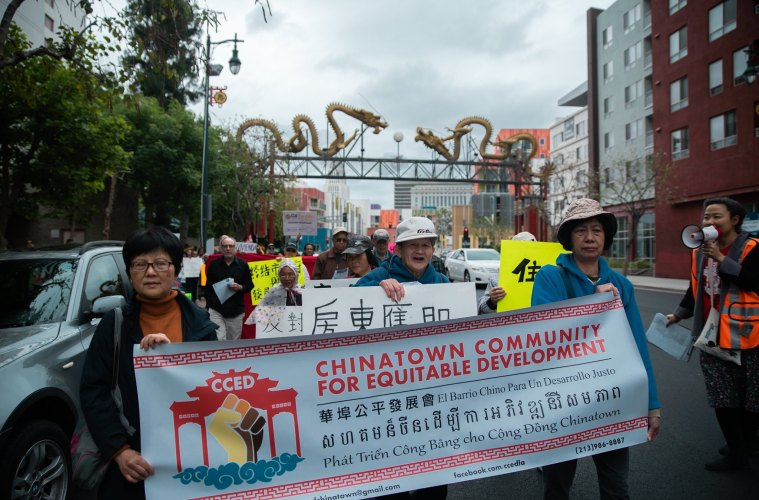 Facing Mass Eviction, Hundreds of Tenants in Chinatown Are
