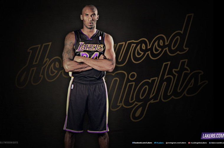 best service 1899c 5eca3 Will Kobe Debut the Same Night at the Lakers' New Black ...