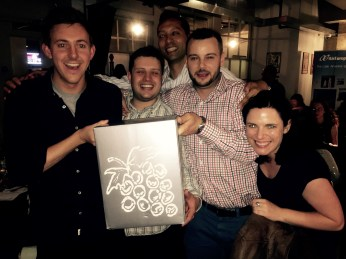 The winners of the quiz!