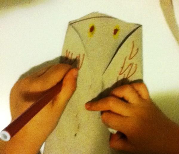 disegnare le piume