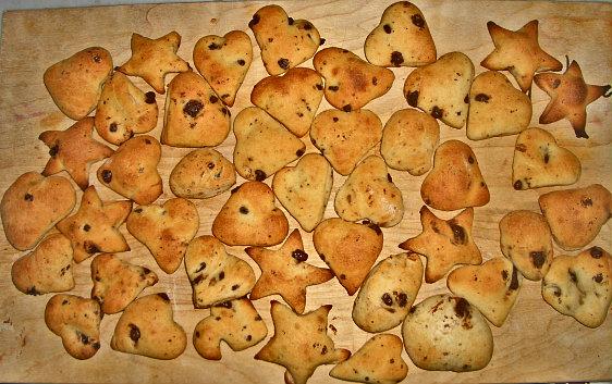 biscotti con gocce di cioccolato per coccolare un bimbo con la febbre
