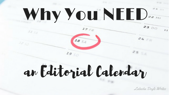 need an editorial calendar