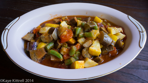 My Easy Ratatouille-the dish
