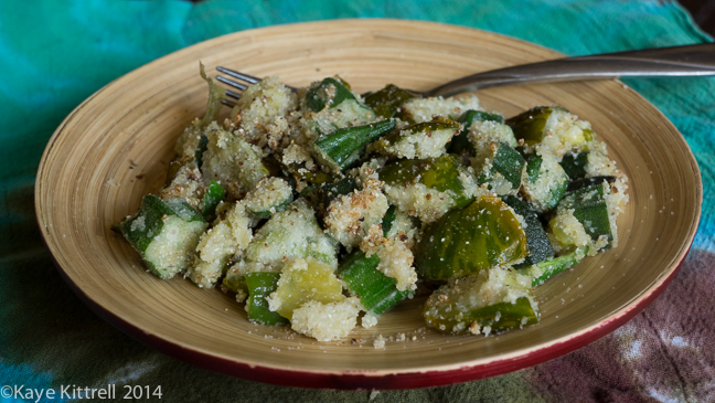 Southern Fried Okra, SoCal Style!-dish