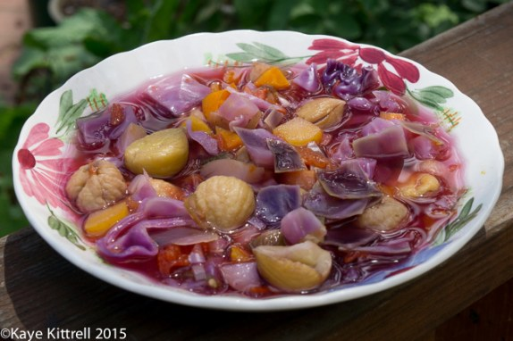 Try adding chestnuts to Vegetable Soup