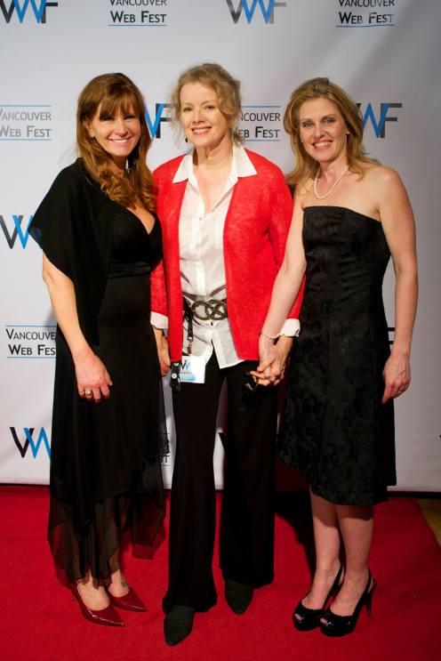 Late Bloomer as Web Fest Nominee - Kaye, Suzette, Paula