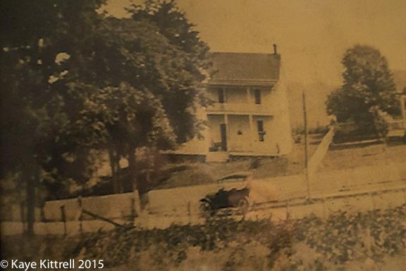 Original house, 1908