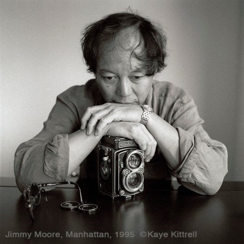 Remembering a Mentor, Photographer James Jimmy Moore - Portrait by Kaye Kittrell