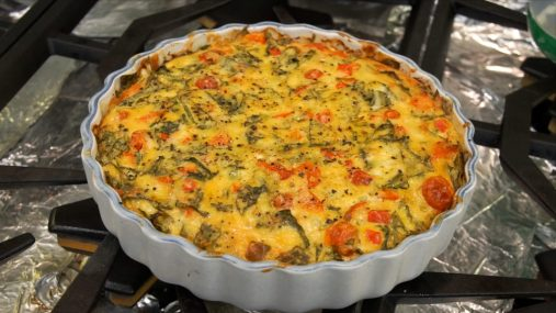 Father's Day Brunch Recipes-Quiche