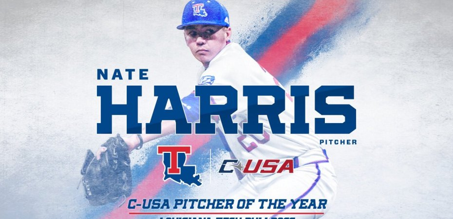 Harris named Conference USA Pitcher of the Year as Dawgs place five on all-conference
