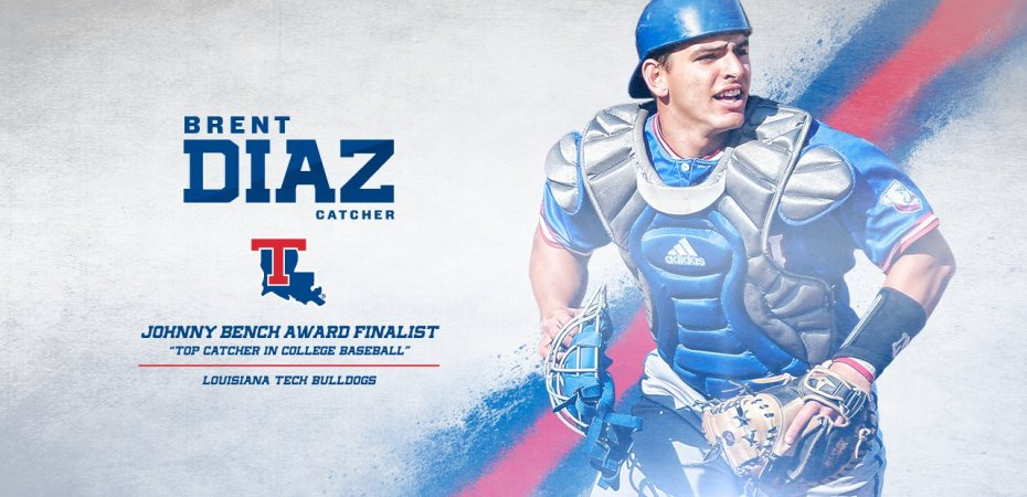 Brent Diaz named finalist for Johnny Bench Award