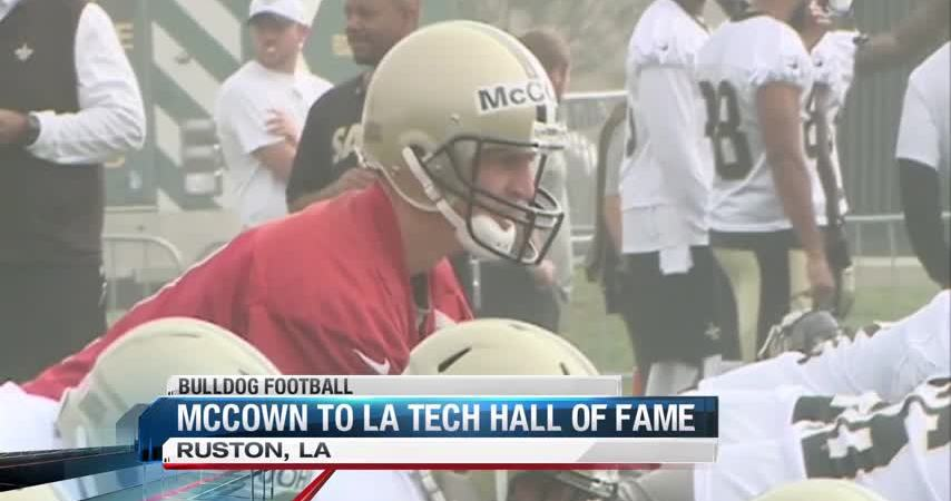 McCown talks about La. Tech Hall of Fame induction