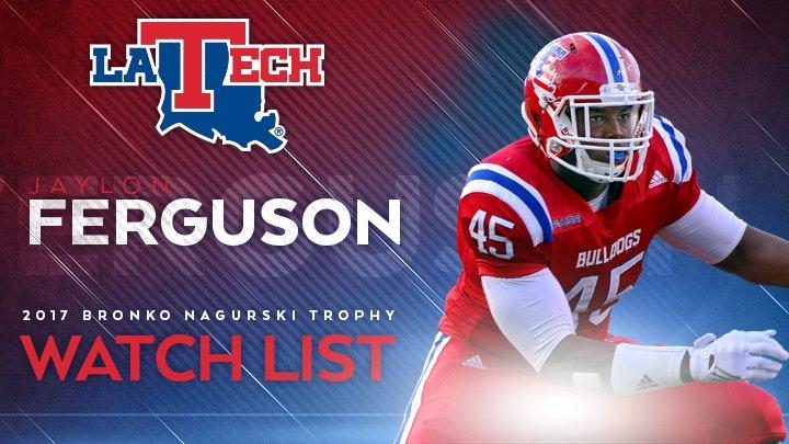 Ferguson named to Bronko Nagurski Trophy watch list