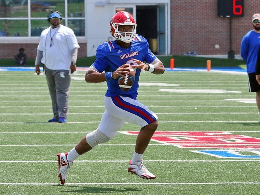 Tech's offense raids 2nd scrimmage with aerial assault