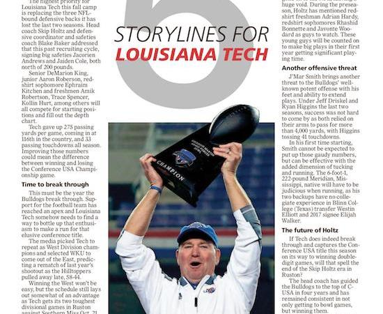 5 storylines for Louisiana Tech