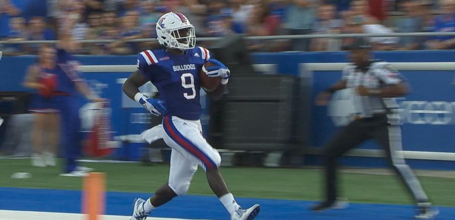 Teddy Veal happy to contribute with special teams TD for La. Tech; La. Tech hosts Mississippi State Saturday