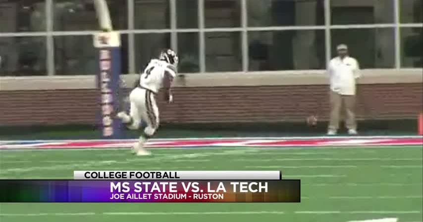 Louisiana Tech falls in 'Battle of the Bulldogs' to Mississippi State, 57-21