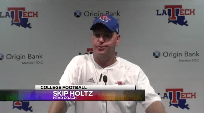 Skip Holtz following 52-24 win over Demons: 'Fuming over the three turnovers'