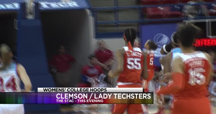 Lady Techsters with 25 turnovers in 55-47 loss to Clemson