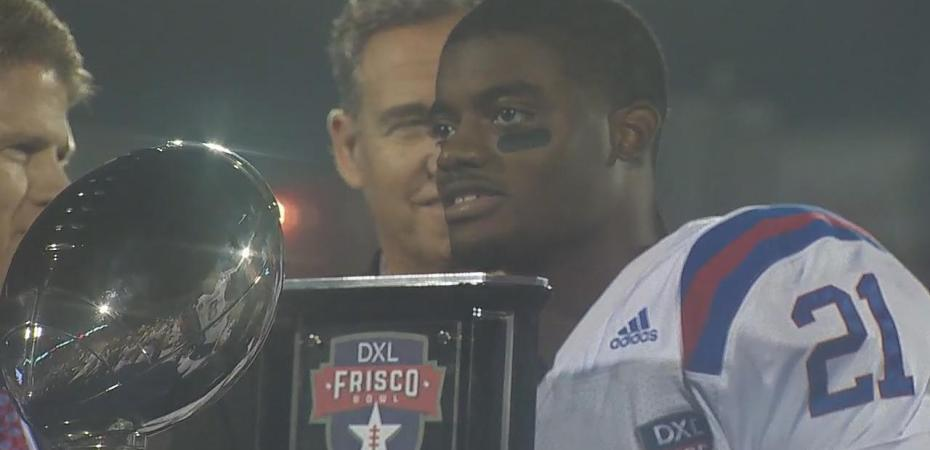 Amik Robertson turned out to be a big surprise for La. Tech's Skip Holtz