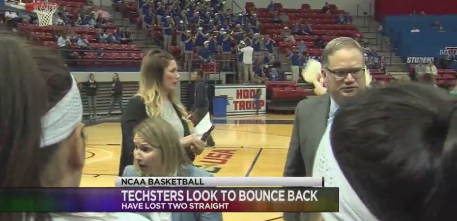 Lady Techsters looking to bounce back after a rough week on the road