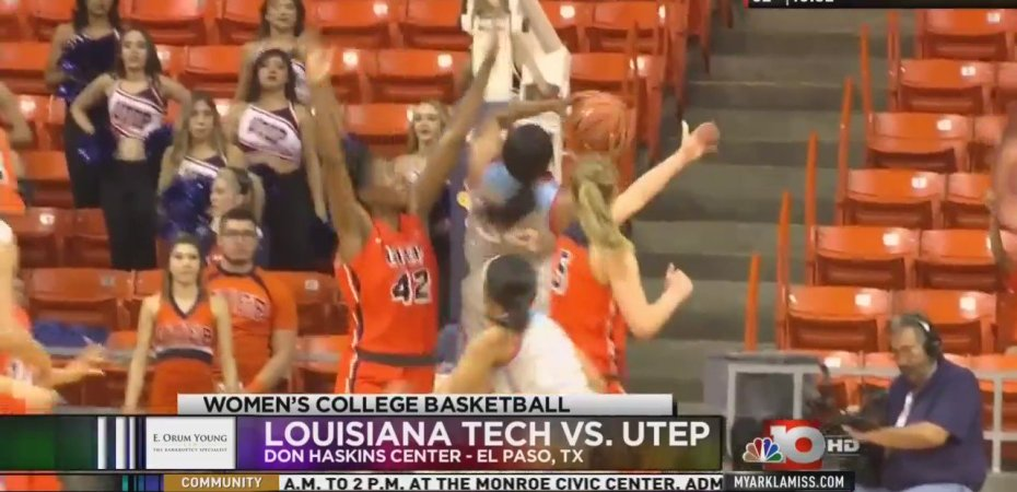 Lady Techsters snap five-game skid to UTEP in games at Haskins Center