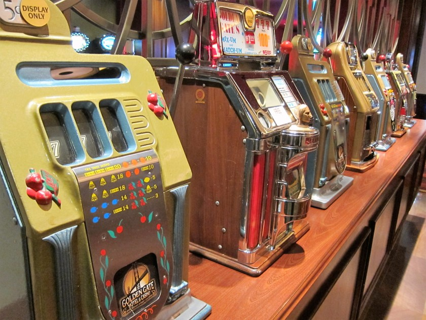 Vintage Slot machines Las Vegas