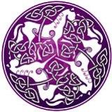 Simbolo esoterico: Nodo celtico con tre cavalli