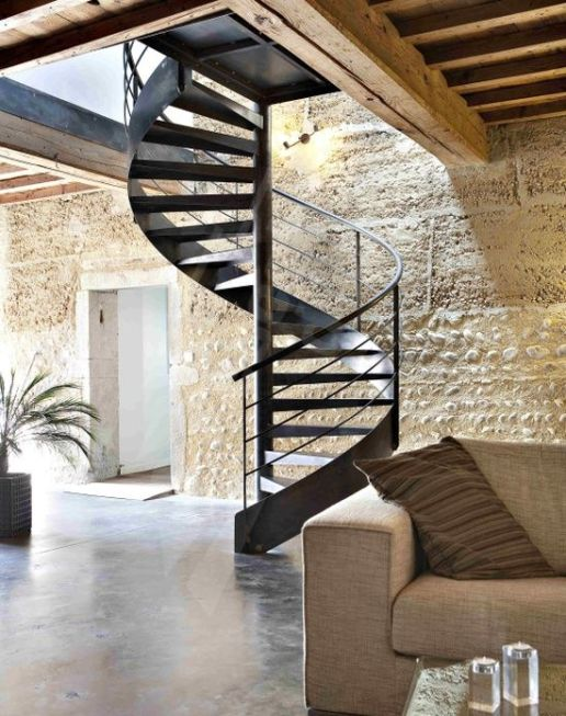escaliers indus
