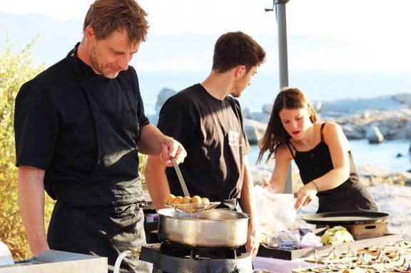 L'Atelier du Chef en pleine action - Traiteur l'Atelier du Chef - Corse