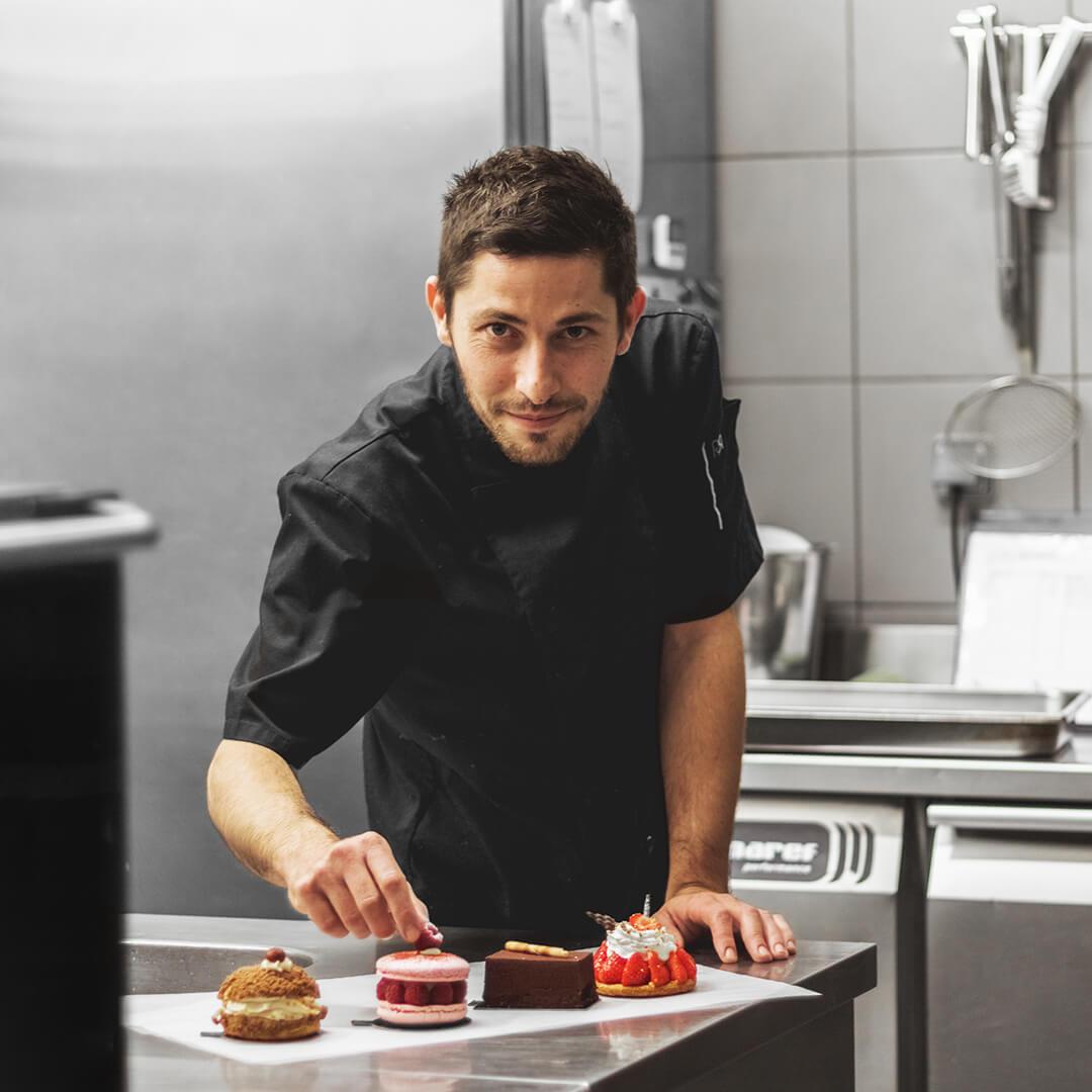 Tristan MEUNIER - Chef pâtissier - L'Atelier du Chef - Traiteur Corse
