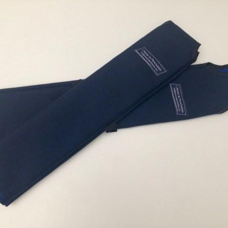 Protections de cuissardes adaptables sur Javelin.