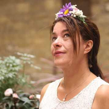 DIY Couronne de fleurs fraiches atelier