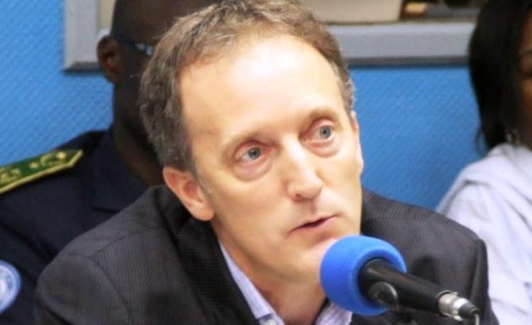 Scott Campbel Responsable pour l'Afrique Centrale au Haut Commissariat BCNUDH en RDC