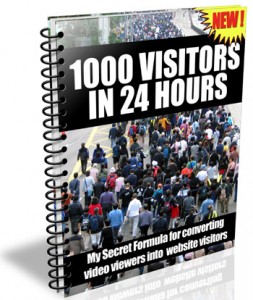 1000 Visitors in 24 Hours