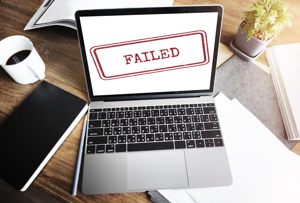 Internet Business Failure