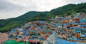 Colourful rooftops of Gamcheon