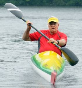 Ed Earle, Competitive Kayaker