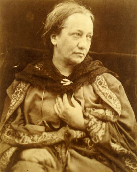 Julia Margaret Cameron, photographed by her son, at LaterBloomer.com