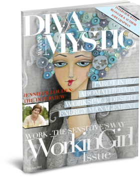 "I share my story of early responsibility and blooming late in Diva Mystic Magazine's May/June ""Working Girl issue."""