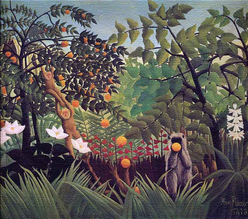 The Imaginary Landscapes of Henri Rousseau