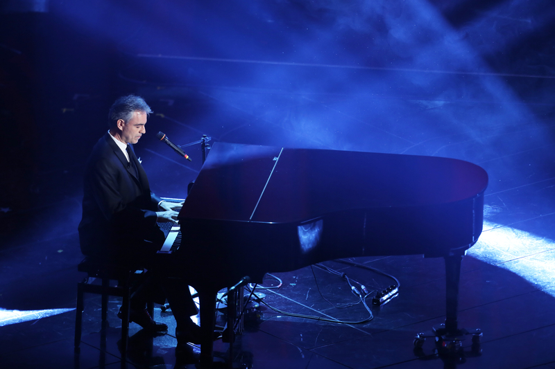 Andrea Bocelli at Debra Eve's LaterBloomer.com