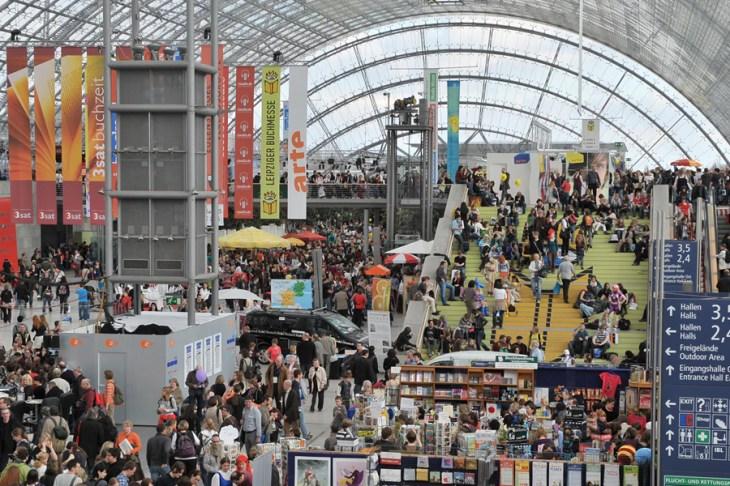 Feria de Leipzig: de las letras a la política - La Tercera