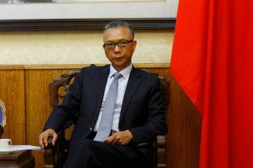 """Xu Bu: Embajador de China en Chile: """"No tenemos ninguna intención ni posibilidad de controlar los recursos de Chile"""" 07/02/2019/La Tercera."""