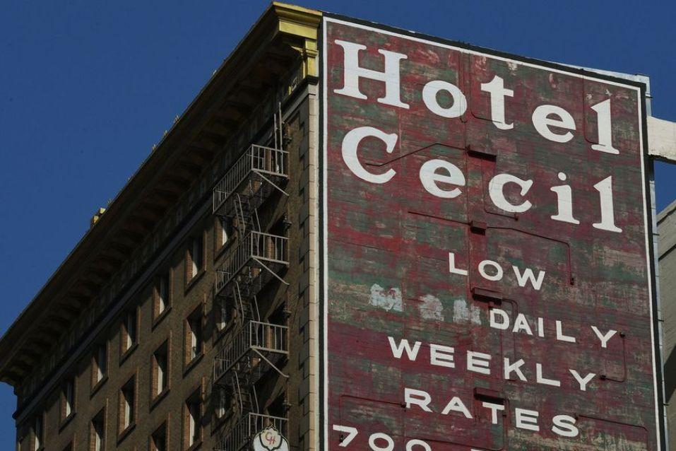 misterio del Hotel Cecil