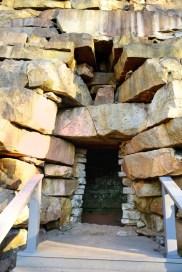 Furnace entrance.