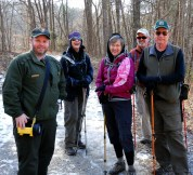 Hikers and Scott Teodorski, who guided me through Gap Cave.